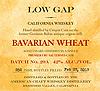 Low Gap Sauterne Wheat Whiskey